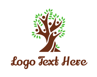 Parenthood - People Tree logo design
