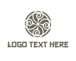 Oriental - Oriental Circle logo design