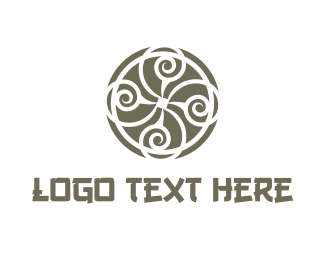 Cheap - Oriental Circle logo design