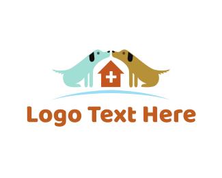 Veterinarian - Dog Hospital logo design