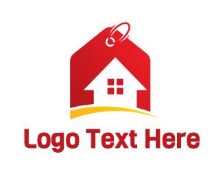 Tag - House Price Tag logo design