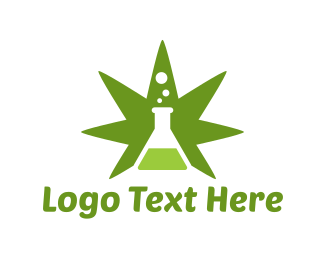 Weed - Cannabis Labs logo design