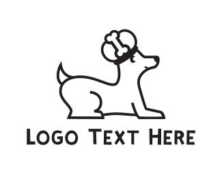 Bone - Royal Dog logo design