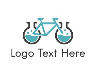Scientist - Bike Laboratory logo design