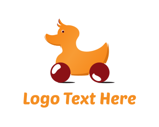 Rolling  Duck Toy Logo