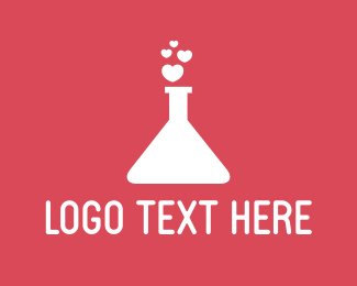 Test Tube - Love Potion logo design