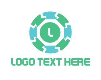 Blocks - Block Circle logo design