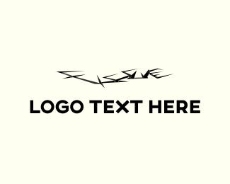 Crack - Ground Fissure logo design