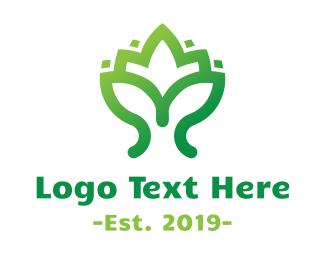 Lotus - Eco Lotus logo design