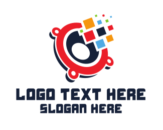 App - Pixel Audio App logo design