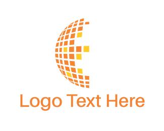 Sphere - Digital Circle logo design