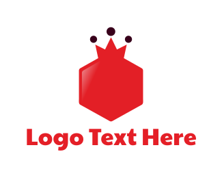 Hexagonal - Royal Hexagon logo design