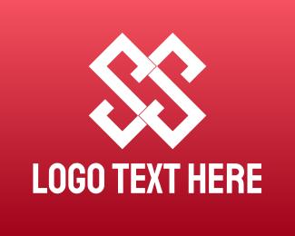 Apparel - Geometric Double S  logo design