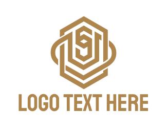 Consultant - Gold S Badge  logo design