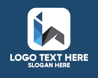 Information Technology - Modern I & H logo design