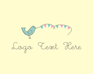 Baby - Blue Bird logo design