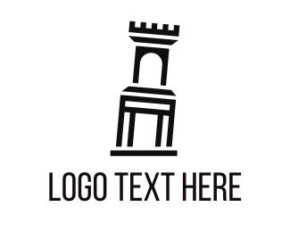 Pasta - Interio Palace logo design