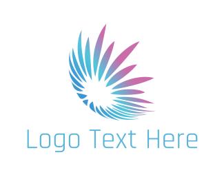Jellyfish - Tech Flower logo design