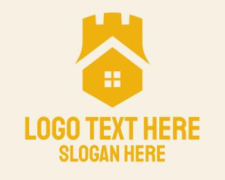 Home Services - Black Castle Homes logo design