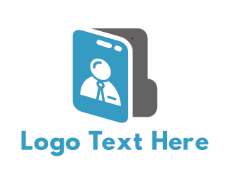 File - Job Folder logo design