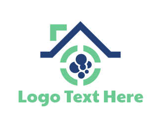 Cleaning Service - Laundry House logo design