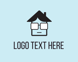 Optical - House Geek logo design