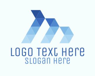 Finance - Triangle Waves logo design