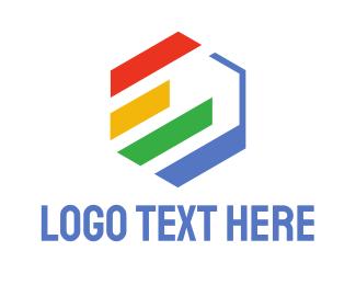 Graph - Hexagon Statistics  logo design