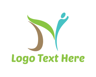 Letter N - Abstract Letter N logo design