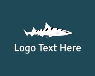 Attack - Stripe Shark logo design