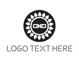 Attach - Sun Link logo design