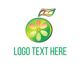 Screen - Fruit Film logo design