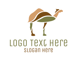 Middle East - Desert Camel logo design