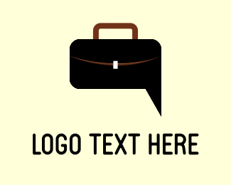 Handbag - Bag & Chat logo design