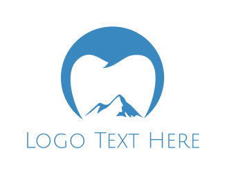 Mountain - Dental Mountain logo design