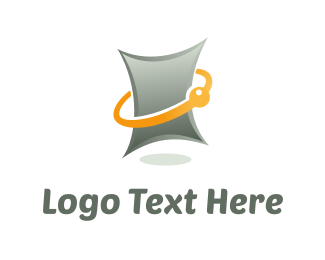 Page - Digital Tablet logo design