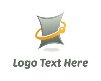 Prescription - Digital Tablet logo design