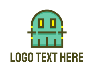 Alien - Gaming Monster logo design