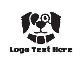 Monocle - Mister Dog logo design