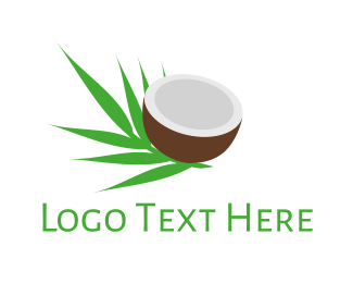 Palm - Coconut Palm logo design