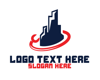 La - Fix City logo design