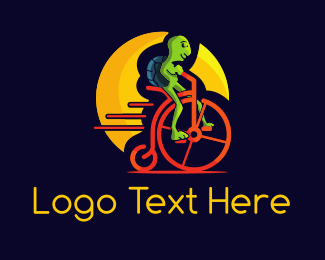 Bicycle - Alien Bike logo design
