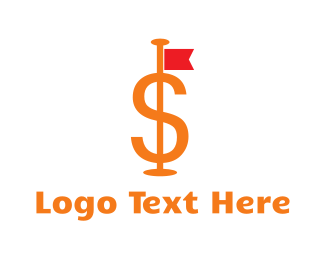 Dollar - Dollar Flag logo design