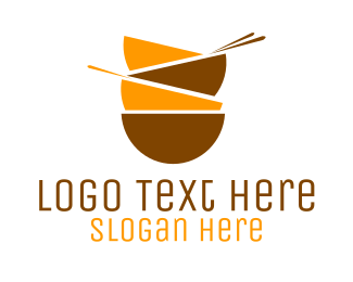 Soup - Asian Bowls logo design