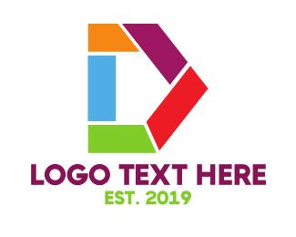 Artistic - Artistic D Shape logo design