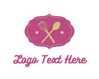 Spoon - Whisk & Spoon logo design