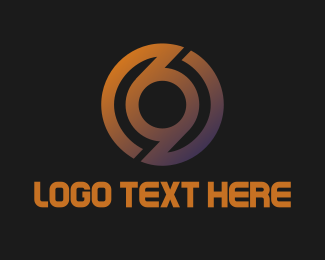 Number 6 - Studio 69 logo design