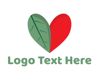Leaf Heart Logo
