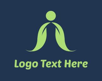 Cape - Green Leaves Cape logo design