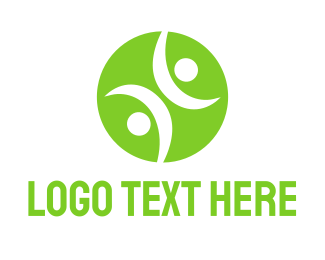 Tennis - Tennis Ball People logo design